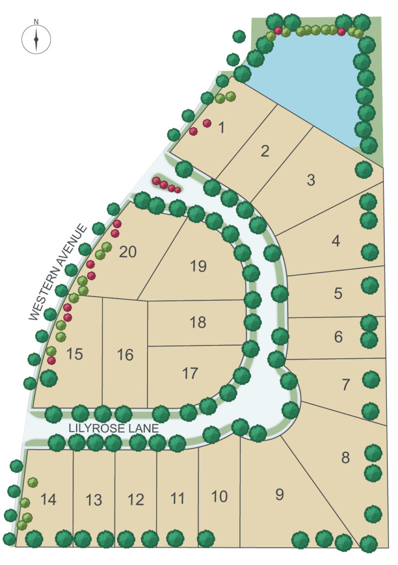 Fairway Site Layout